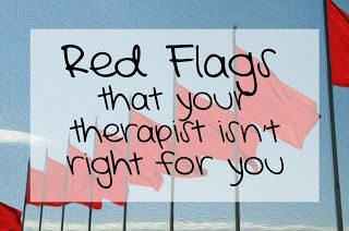 Red Flags....