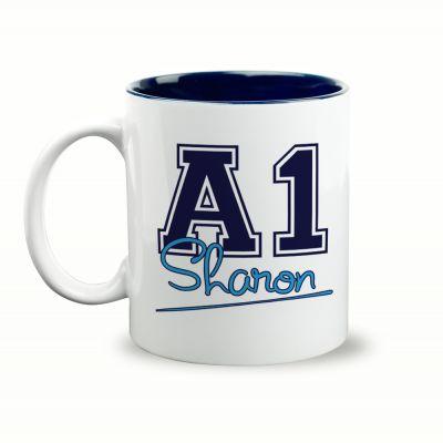 A1 Sharon Gift Mug & Box by HairyBaby.com