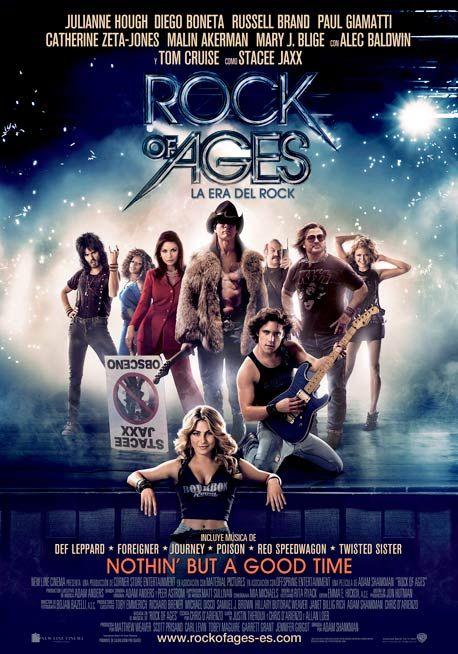 Voy a romper una lanza a favor de Rock of Ages (La era del rock), aunque a priori no es una película que sea de mi estilo. Lo mejor de Rock of Ages son las idas de olla. Es una película tan exagera...