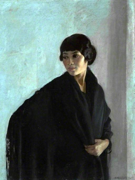 Spanish Girl, 1914 by Gerald kelly (1879-1972)