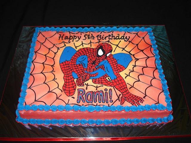 Superhero Cake Acme