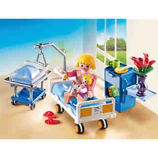 PLAYMOBIL® 6660 Krankenzimmer mit Babybett