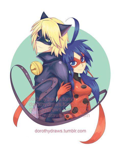 2D! (Miraculous Ladybug, Chat Noir, Felix)