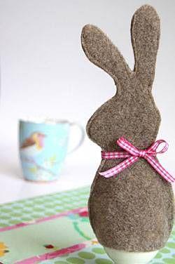 Wir nähen Eierwärmer, denn die braucht man an Ostern besonders viele - schließlich spielt das Ei eine Hauptrolle am Osterfest.