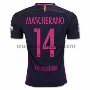 Barcelona Fotbalové Dresy 2016-17 Mascherano 14 Venkovní Dres