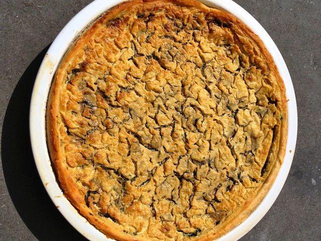 Hartige taart zonder zuivel en eieren!