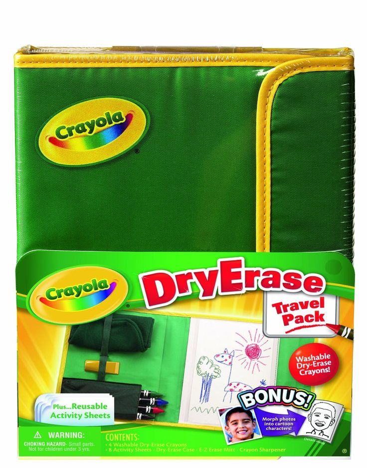 Dry Erase Travel Pack - 25 Awesome Toys & Games to Take on an Airplane