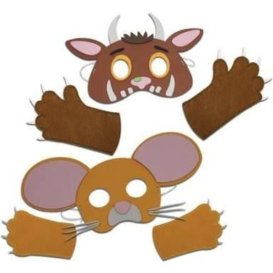 Image result for gruffalo costume pattern