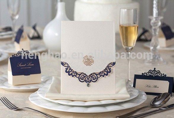 Source 2014 Popular engagement invitation cards laser cut wedding invitation card on m.alibaba.com