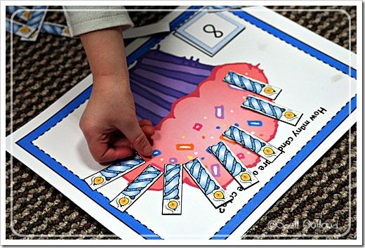 preschool Birthday theme activities