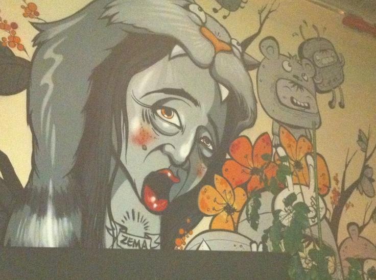 Montreal -Bar art
