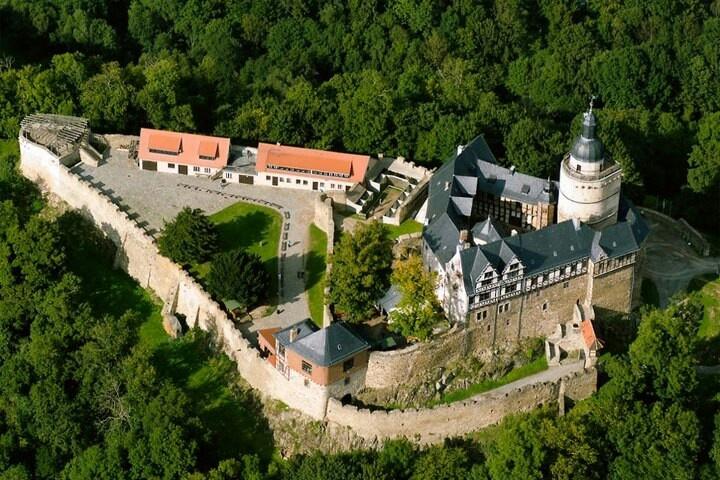 Burg Falkenstein- Actually already been here but sooooo cool