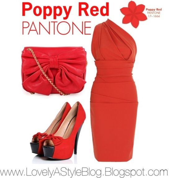 poppy red well the outfits are in we love the new colors pantone has released for spring so we put together a few monochromatic looks surrounding the