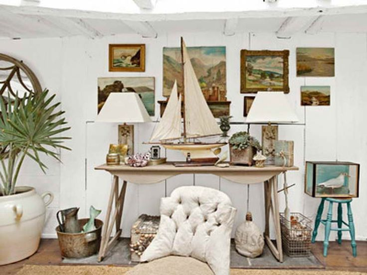 17 Best Images About Nautical Decor On Pinterest Models Coastal Living Roo