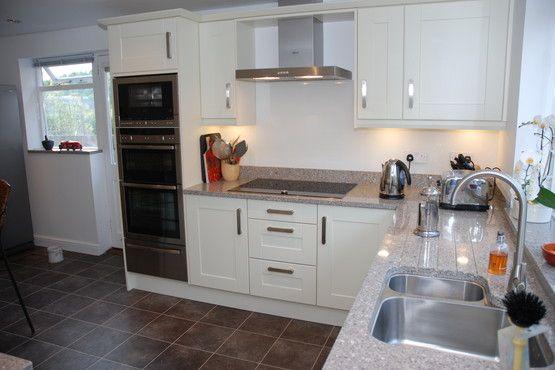triple sink kitchen bar furniture alpina white silestone - google search   ...