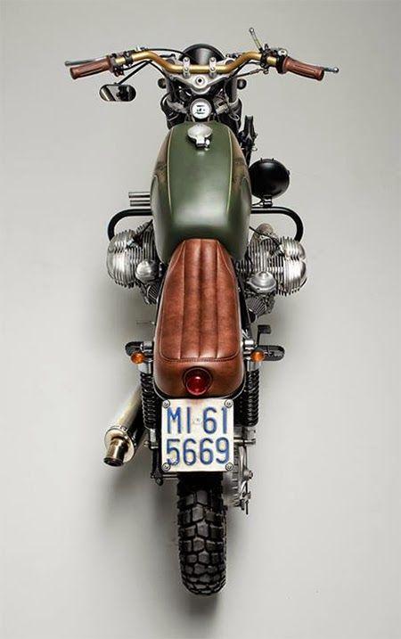 BMW R65 Mölta #motorcycles #bratstyle #motos | caferacerpasion.com