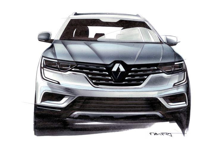 New #Renault #KOLEOS (c) Renault Design