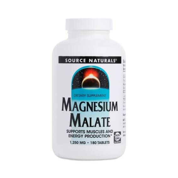 Magnesium Malate Supplement by Source Naturals - Thrive Market