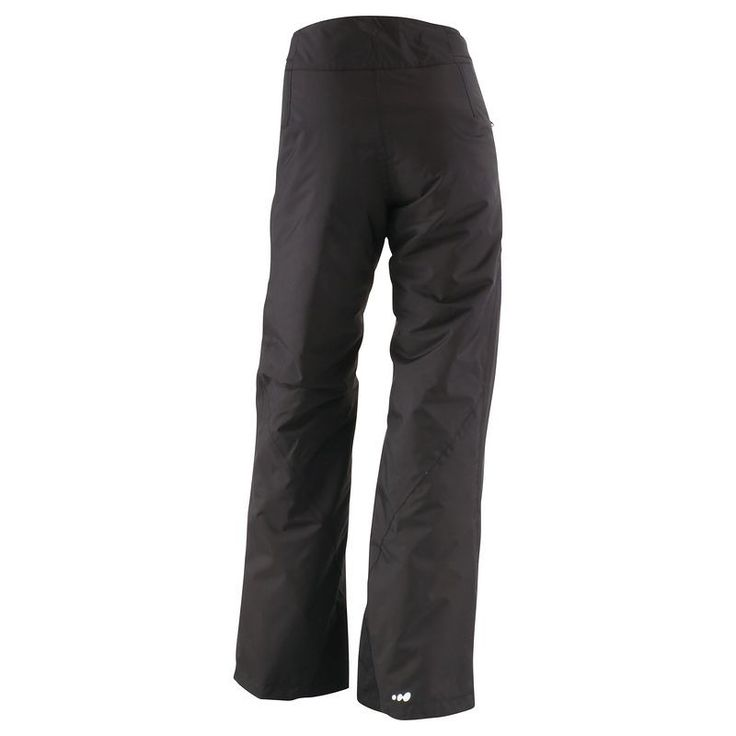 Trousers Ski and Snowboard - Slide 300 Women's Ski Trousers - Black Wed'ze - Snowboard and Ski Wear