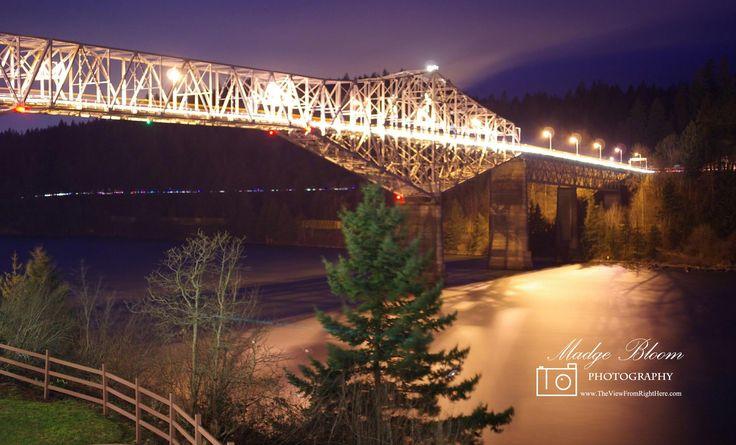 Bridge of the Gods - Oregon & Washington