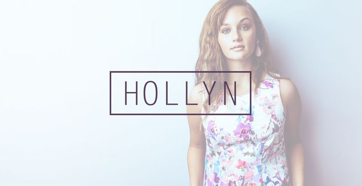 You can hear Hollyn on Youtube, Tobymac's new album This is Not a Test, as well as, otheer sources.