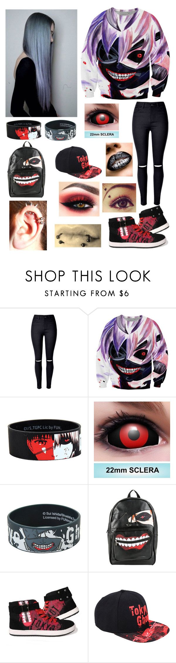 """Tokyo Ghoul"" by masteremo9099 on Polyvore"