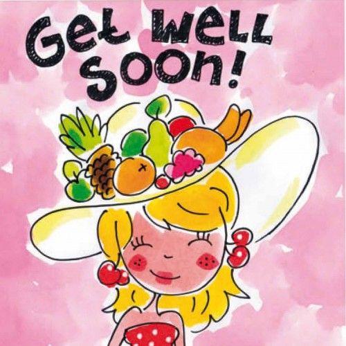 Get Well Soon -blond amsterdam