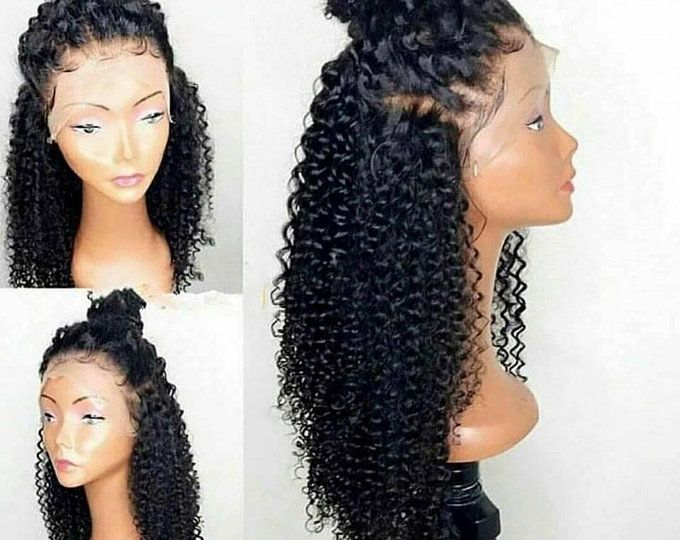 Fabulous Lace Front Wig Long Brazilian Curly Texture Black Heat Natural Hairstyles Runnerswayorg