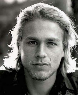 Charlie Hunnam - had to look him up as I don't watch Sons of Anarchy. While not a fan of the books, I can see him playing Christian Gray. He is good looking enough. But in this picture, I think he looks a lot like Heath Ledger.