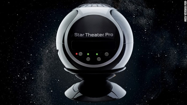 It's hard to see stars in the sky when you live in populated areas. This gadget brings 10,000 stars into your kid's room. The $100 Star Theater Pro from Uncle Milton is like a mini-planetarium. It comes with two disks full of images of the night sky -- one is all stars, and the other has the sun, moon and Earth (more skies are available here). You