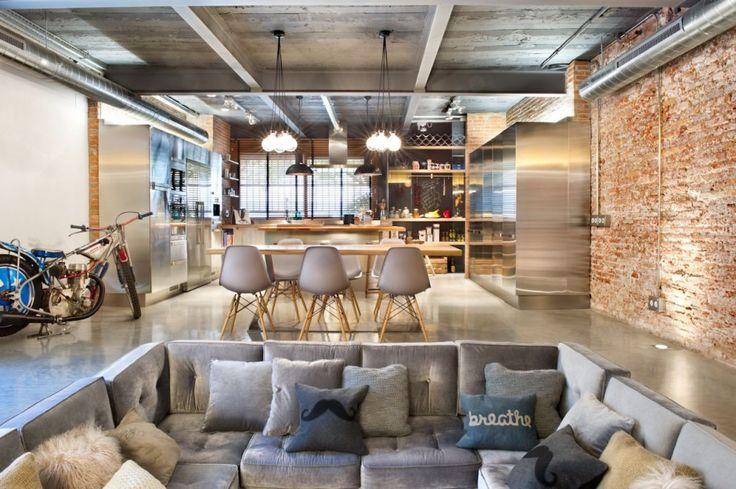 Bajo comercial convertido en loft / Egue y Seta #livingroom