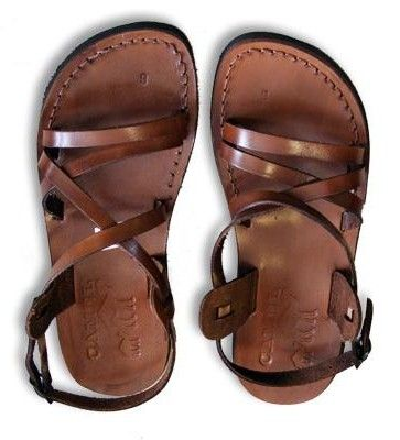 Leather sandals - NURU THE BOSS: GLADIATOR SANDALS FOR MEN!!