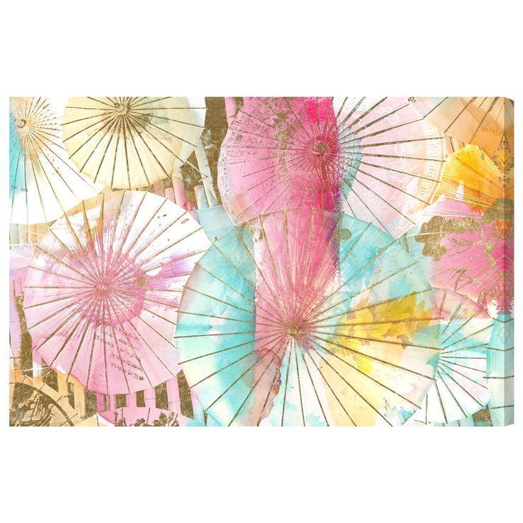 Oliver Gal 'Umbrella Shop by Julianne Taylor' Canvas Art