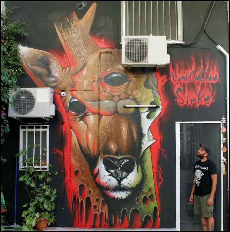 #deer #graffiti #sinke #sinketattoo #athens