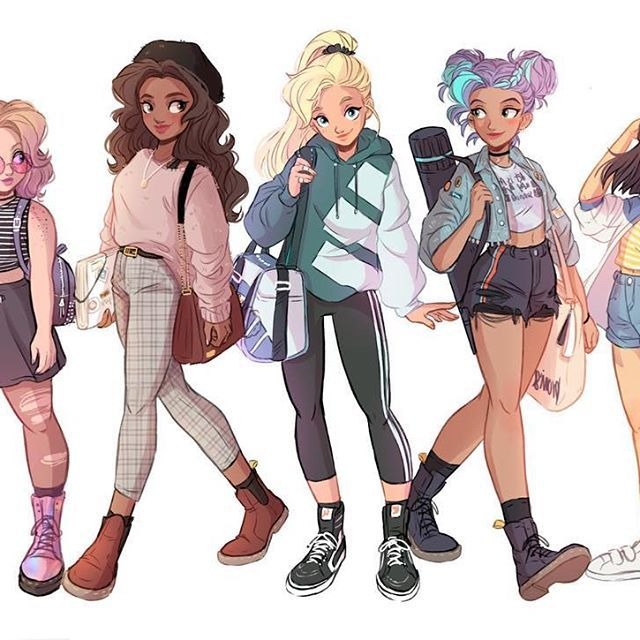 Itslopez Group Drawings Girl
