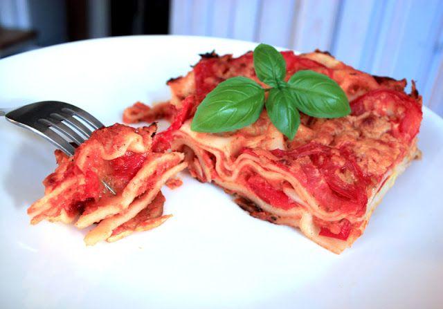 Veganmisjonen: Lasagne med bechamelsaus og grønnsaker