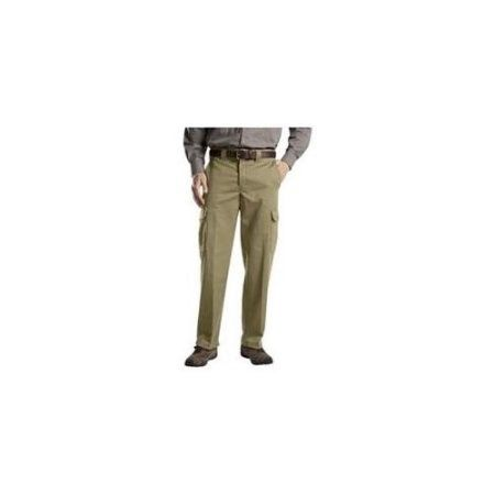 Dickies Men's Relaxed Straight Fit Cargo Work Pant WP592, Size: 40 30, Beige