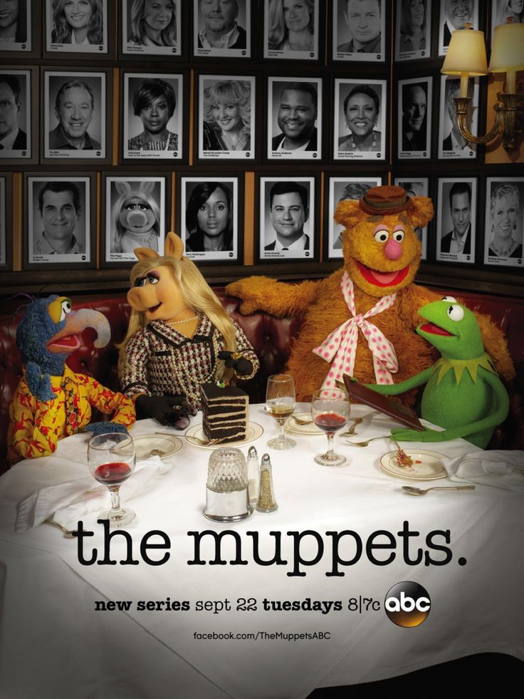 "muppet-wiki: "" Tonight's the night! Make sure you tune into ABC tonight at 8/7c and make The Muppets a ratings smash! """