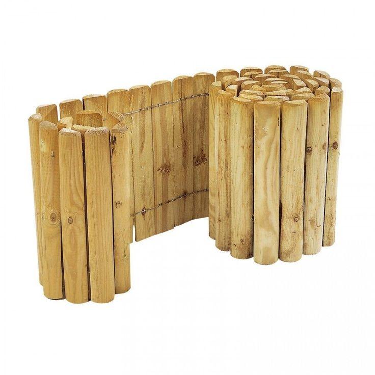 Beetzaun 250 x 20 cm Rollzaun zur Beetumrandung Rasenkante Beeteinfassung Holz | Garten & Terrasse, Landschaftsbau, Kanteneinfassungen | eBay!
