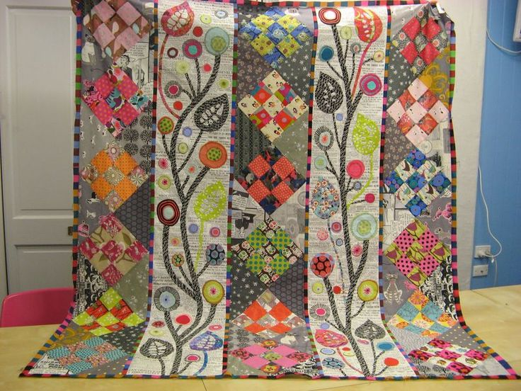 Off the Wall, the wedding quilt