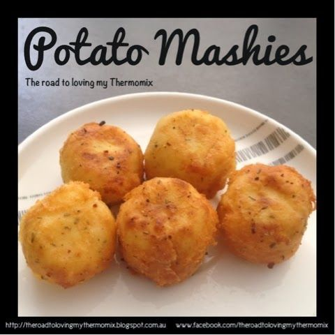 The road to loving my Thermomix: Potato Mashies