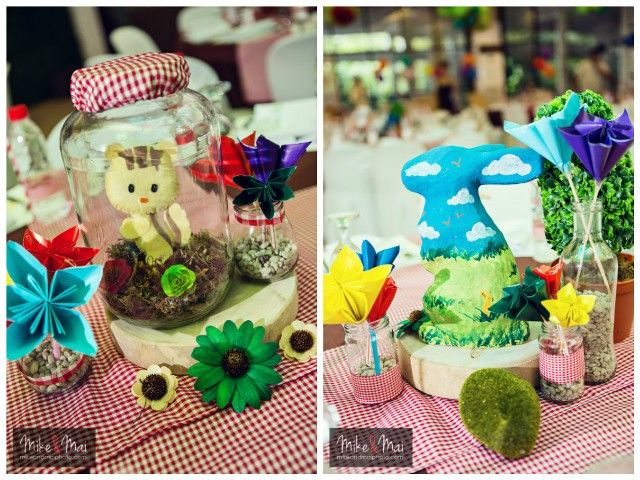 Little Red Riding Hood Cake And Lemonade In A Basket