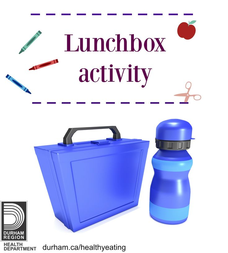 Having a hard time thinking of different snacks and lunches to send to school with your child? Take a look at this great lunchbox activity! Put it up on your fridge and get your child involved by having them pick out what items they want in their lunch.