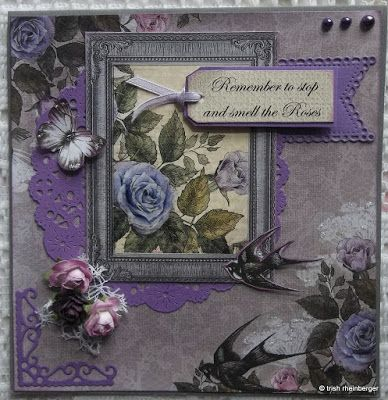 My Daily Dose Blogspot: Two Rambling Rose cards