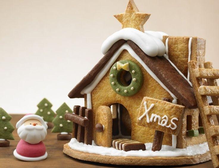 Muji Christmas has limited adorable Candy Houses and Christmas trees!   #rinkya #japan #fromjapan #muji #xmas