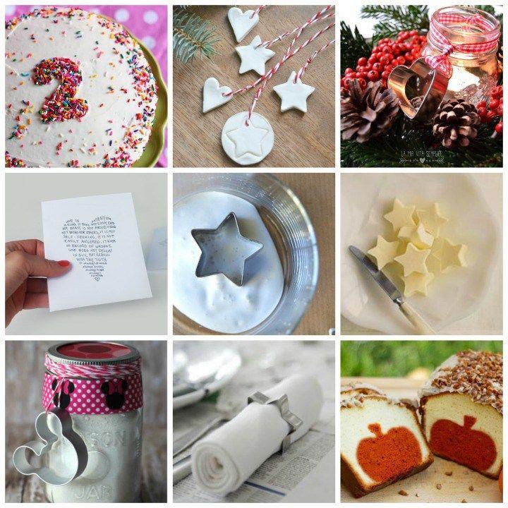 12 usi creativi delle formine per biscotti