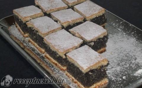 Mákos süti recept fotóval