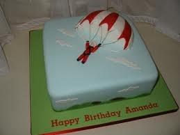 parachute cake