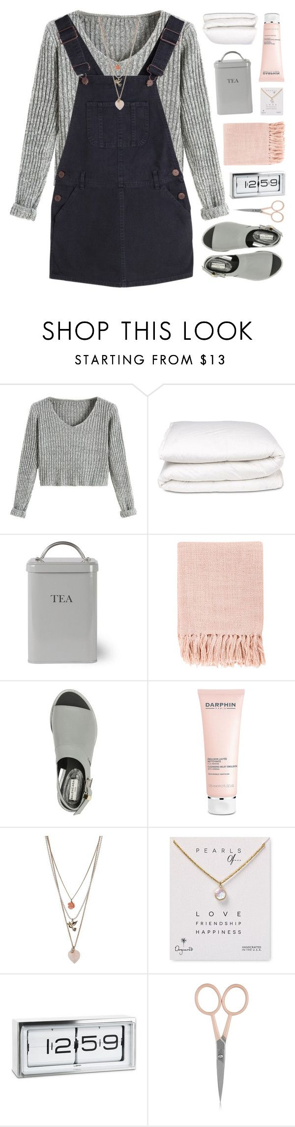 """PEARL OF LOVE"" by emmas-fashion-diary ❤ liked on Polyvore featuring Selfridges, Garden Trading, Surya, Balenciaga, Darphin, Miss Selfridge, Dogeared, LEFF Amsterdam and Anastasia Beverly Hills"