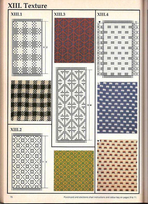 Машинное вязание - жаккард #69